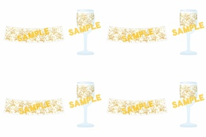 【ミリオンライブ】12月18日に「クリスマスパーティグラス」全4種が発売!