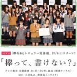 『【欅坂46】『欅って、書けない?』の司会が土田と澤部に決まった訳だけど、みんなは誰が良かった??』の画像