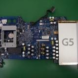 『i Mac G5 ロジックボードのコンデンサ交換』の画像