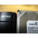 『データ領域にアクセスできない? BUFFALO 外付けHDD』の画像