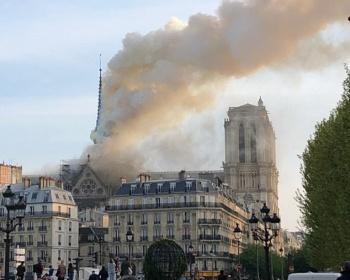 【火災速報】パリ・ノートルダム大聖堂で火事 現場がヤバイ(画像・動画あり)