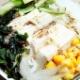 梅じそ豆腐サラダ