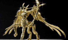 【フィギュア】  日本で 聖闘士星矢の 純金ゴールドクロス(約6000万円) が作られる。  海外の反応