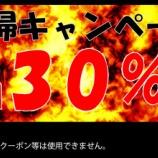 『ISKY.DEPO通販 全品30%OFF 在庫一掃キャンペーン!』の画像