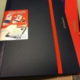 『二つ折りできるクリアファイル キングジム「コンパック」買って見ました』の画像