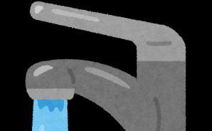 蛇口の水が上手に飲めないニャンコ