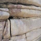 『浦島太郎伝説の地:花崗岩の方状節理』の画像