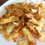 ジャガイモの簡単チップス