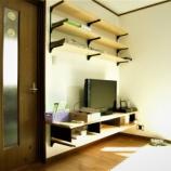 『幸田町U邸/無垢の木の収納をつくりつける』の画像
