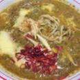 蒙古タンメン中本「華麗なるカレー祭り」その4「ほうれん草ベースの『ポパインド』を東池袋店で(こんにゃく麺変更)」