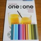 『マンツーマン英会話レッスン用教科書(Business English One:One for Pre-Intermediate)を研究中 Oxford University Press刊』の画像