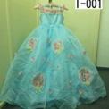 ブルーの紫陽花ドレス(7歳)I-001 SOLD-OUT