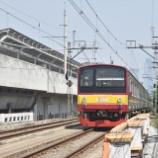 『マンガライ~ジャティネガラ間、上り線も新線切り替え(9月26日)』の画像