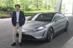 【EV】これがソニーのクルマ「VISION-S」、日本上陸【動画あり】