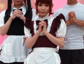 【画像】中川翔子さんの「メイド姿」をご覧下さい
