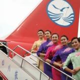 『四川航空搭乗記 チェイナドレスで中国人気No.1エアライン@桂林両江国際空港搭乗』の画像