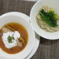 MENSHO SAN FRANCISCO@新宿(新宿ミロード) 「甘エビのビスクつけ麺」