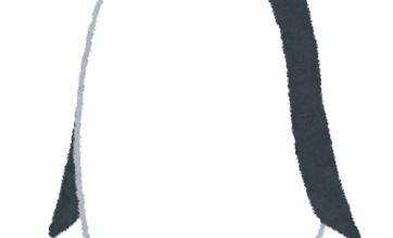 泳がずに突っ立ってるペンギンに何事かと思って見ていたらwwww
