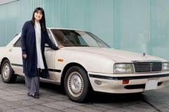 日産「伊藤かずえさんの愛車30年物シーマを新車時の状態にレストアします」