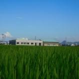 『田んぼの中の作業所29年8月』の画像