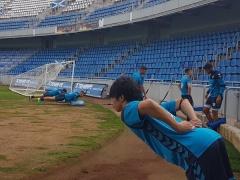 【 画像 】柴崎、加入2日目でテネリフェの同僚と楽しそうに練習!