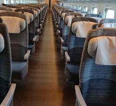 出張の新幹線『やまびこ』見事にガラガラ