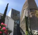 100年に一度咲くと云われる植物「アガべ」、神戸メリケンパークにて、もうすぐ開花か!?