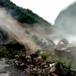 【動画】中国、ヤバすぎる山崩れ発生の瞬間!直下の水力発電所のダムを飲み込む! [海外]