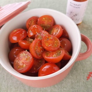 ちょっと温かい♪ほんわかミニトマト