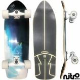 『サーフスケート NitroSK8 スケートボード コンプリート Carlos Burle(カルロス・バーレ)モデル その2』の画像