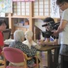 『春日丘荘グループホームのテレノイド実験がテレビ取材を受けました!』の画像