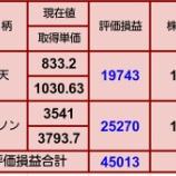 『【ZOZO買い増し】10月10日 評価損益』の画像