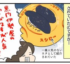 【481うに目】人気ワーストワンの寿司ネタ