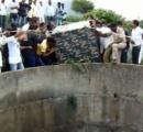 インドヒョウを救え!深さ20メートルの井戸から