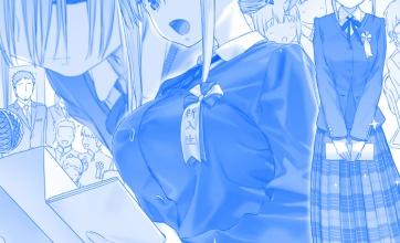 【たわわ】入学式の新入生
