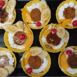 『1号館厨房レク(プリンアラモード)』の画像