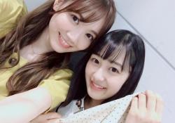 【可愛い】向井葉月×田村真佑、なんか姉妹感あるなwwwww