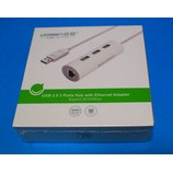 『Wii Uの有線LAN USBアダプターとしても使えるUgreenUSB LAN ハブ3ポートを買ったので簡単にレビューする。』の画像