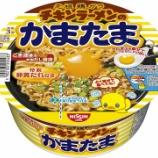『【コンビニ:汁なし麺】日清食品 チキンラーメンのかまたま』の画像
