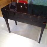 『【お客様設定のセミオーダー】松創の「ジンシリーズ」のコンソール・黒檀』の画像