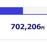 『2020年8月(61カ月目)のアクサ生命ユニットリンク保険の評価額は-212,794円でした。』の画像