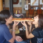 『USドッグの理想的な食べ方!』の画像