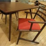 『【軽い椅子】トーア商事のセルボワイドチェアとフジファニチャーのnagiのテーブル』の画像