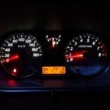 『日産キューブ Z11ライダー スピードメーター、エアコンパネルLED打ち換え 施工例』の画像