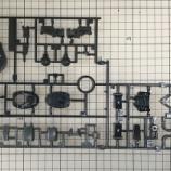 『アクト・ザク(キリシア部隊機)製作1/開封とランナー紹介』の画像