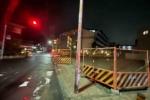 星田駅近くの工事中の交差点がさらに安全になりそう!工事がどんどん進んでる!