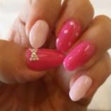 『【ネイル】ピンクのバービー風』の画像