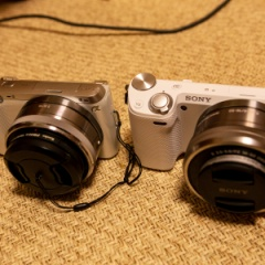 SONY SELP1650に社外レンズフードを装着