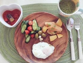 【画像】華原朋美さん(41)の朝食がオシャレ