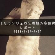 ミケランジェロと理想の身体展〜神のみぞ知る作品の謎を解いた感想〜